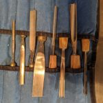 carving tools w. roll