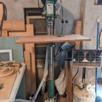 Grizzly drill press.